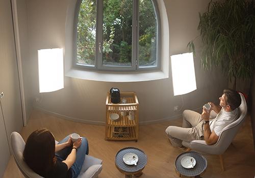 La séance - Luminothérapie